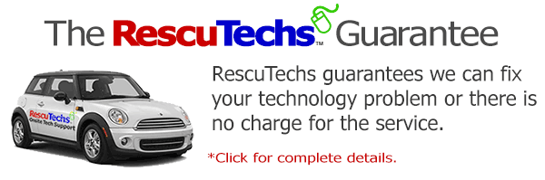 The RescuTechs Guarantee